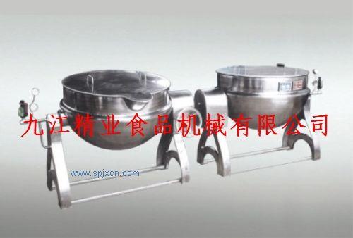 可倾式夹层锅