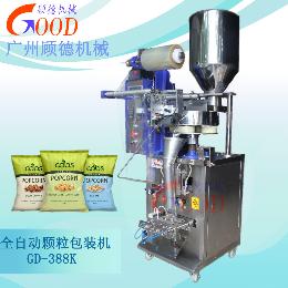 GD-388K广州顾德供应大背封颗粒自动包装机 方便面包装 五谷杂粮包装机 膨胀食品