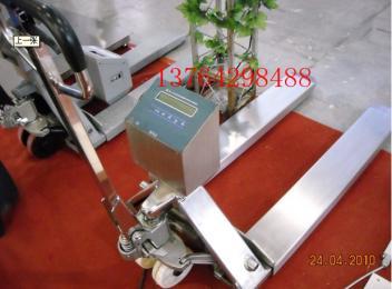 ND3011-C带打印电子秤托盘车价格,带打印托盘车电子秤价格