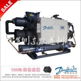 反應釜冷水機 深圳冷水機廠熱銷反應釜配套專用100hp螺桿式冷水機