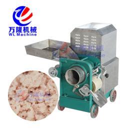 SC-200魚肉提取機 蝦頭肉蝦膏采出機 魚蝦采肉設備