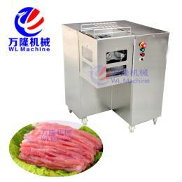 QJB-80大型多功能切肉机 不锈钢全自动切肉机 切肉片机 切肉丝机 多功能鲜肉切片机