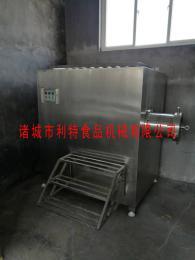肉制品全自动冻肉绞肉机利特不锈钢设备加工