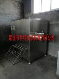 供应不锈钢冷冻肉绞肉机绞鸡骨架设备