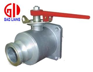 Q41F-3L型方法兰球阀又称铝合金球阀,油罐车球阀,洒水车球阀