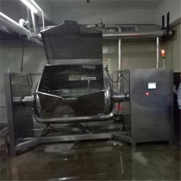 加工定制橫軸攪拌炒鍋-中國專用橫軸炒鍋