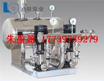 甘肃庆阳市变频供水设备厂价直销