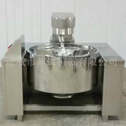 加工定制行星攪拌炒鍋-電加熱半自動炒鍋