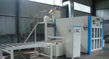 各种型号一体板设备厂装饰板冷压机外墙保温板喷涂室