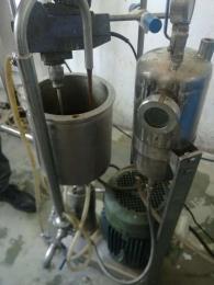 膨胀石墨石蜡复合材料易清洗型分散机