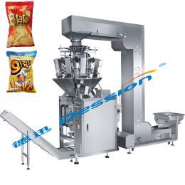 DS-420AZ全自动膨化食品包装机 充氮气包装机