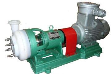 65FSB-32L全氟塑料化工离心泵 耐腐蚀防爆化工泵