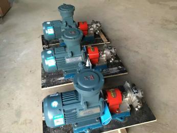 TCB-83.3铜轮防爆齿轮泵 防爆航空煤油泵 汽油输送泵