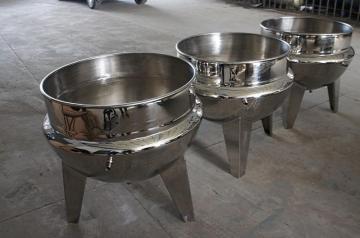 G100-1000L立式电加热搅拌夹层锅