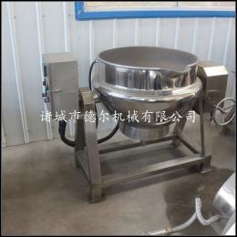 DER-300L牛肉 高汤 肉制品卤煮锅厂家供应电加热夹层锅不糊锅