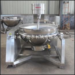 DR-500L德尔厂家直销面粉全自动行星搅拌炒锅电加热