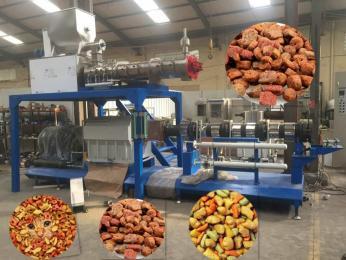 LY95-P大型狗粮生产线湿法狗粮设备