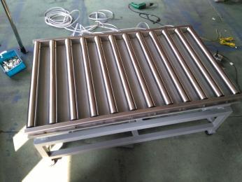 TCS-HT-G苏州50kg全不锈钢滚筒电子秤 昆山60KG不干胶打印滚轮电子称价格