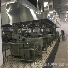可定制中央厨房自动化彩友彩票平台-果酱行星炒锅