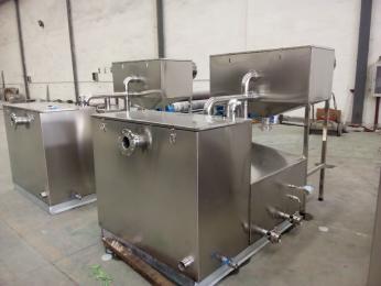 DNRP小型 餐厨油水分离器 安装
