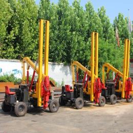 xy-485公路護欄打樁機多功能打樁