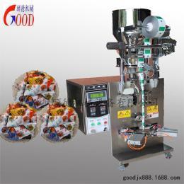GD-SJ专业供应全自动五香豆三角包包装机   炒货三角颗粒包装机?休闲食品卷膜机