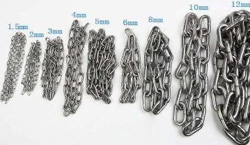 不锈钢圆环链条规格