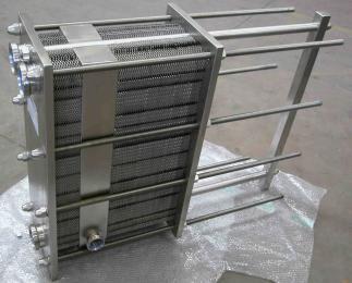 按客户要求而定厂家直销 供应国禹卫生级不锈钢板式换热器