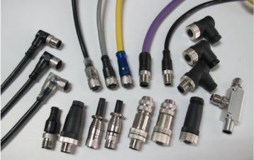 KYF12K4ZT-L2M供应生产M12成型电缆连接器与插座,IO总线模块