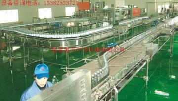 8000瓶/小时纯净水灌装机流水线