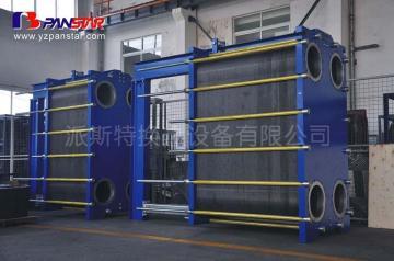 河南色拉油冷却降温专用板式换热器