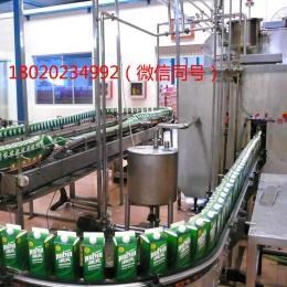 飲料加工生產流程和設備