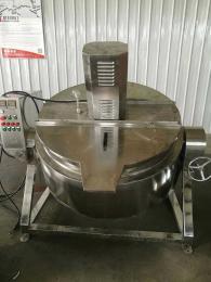 600L迪凯工业 中央厨房彩友彩票平台 全自动炒菜机 自动翻料炒锅 大型厨房炒菜机