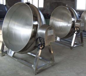 300L食堂用电加热炒菜夹层锅不锈钢蒸煮锅