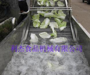 供应 小白菜蔬菜清洗机 清洗彩友彩票平台首选利杰彩友彩票平台