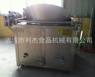 供应 利杰蔬菜饼油炸机 厂家直销操作方便
