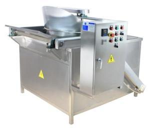 供應 豆泡半自動油炸鍋 利杰專業生產油炸設備