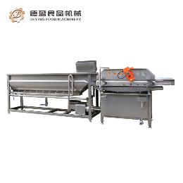 DY-4200专业净菜配送蔬菜加工?#34892;?洗菜机 德盈机械