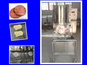 CXL-100汉堡肉饼成型机全自动小型汉堡肉饼加工机器专业厂家