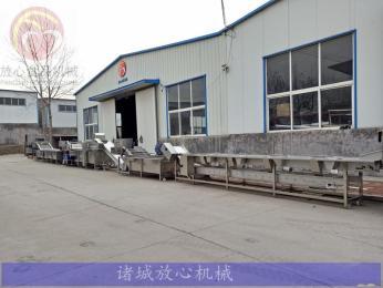 FX-1000东北速冻粘玉米加工设备