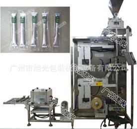 DXD-50Q旭光-黑茶、红茶、咖啡全自动内外袋茶叶打孔包装机