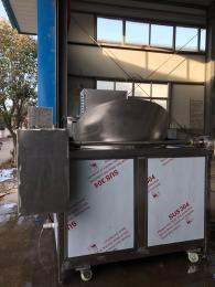 1000肉块油炸机、搅拌式自动出料油炸锅