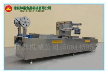 DLZ-420厂家直销阿胶糕拉伸膜真空包装机