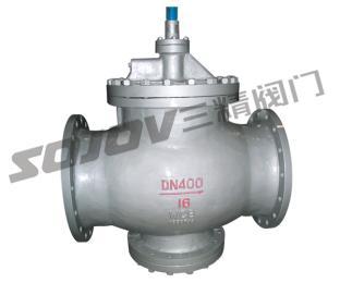 Y43H/Y-16C/100C锅炉用法兰活塞式蒸汽减压阀