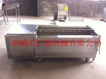 HL-1800芥菜清洗去皮机/毛刷清洗机生产厂家