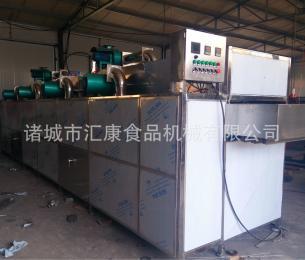 HG-4/3酸菜烘干机 连续式食品干燥机 网带输送