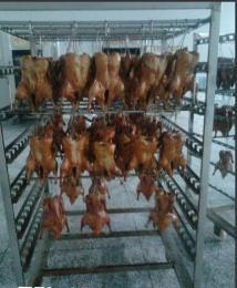 QYX-250型广东烤鸭烟熏炉、鸭脖鸭翅烟熏炉、250型烟熏炉厂家