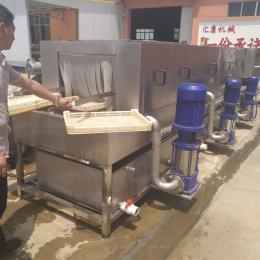 XKJ-12机械配件筐清洗机 配件喷淋清洗设备