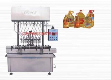 食用油自流式液体灌装机 产品图片