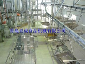 牛羊屠宰設備工藝流程圖